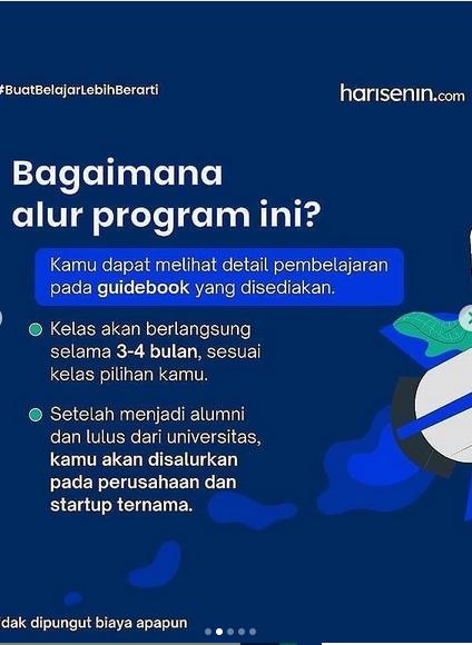 Program Beasiswa Harisenin.com Batch 2