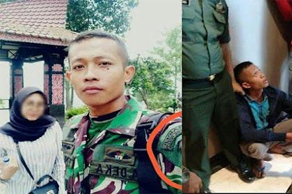 TNI Gadungan Ternyata Pernah Gagal Seleksi, sang Kekasih: Aku Gak Bisa Ditinggal, Dia Ngaku Tentara