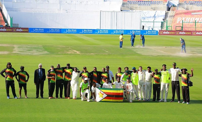 Donald Tiripano And Sean Williams Zim Test cricket latest news results