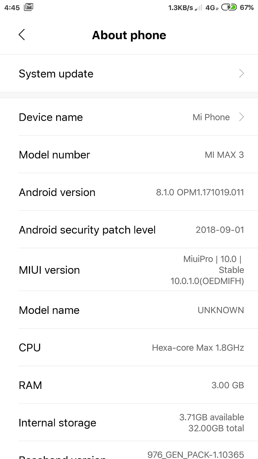 Gerimis's Life Story: Miuipro Evolution 10 0 1 0 Redmi Note