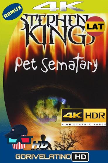 Cementerio De Animales (1989) BDRemux 4K HDR Lat-Cas-Ing MKV