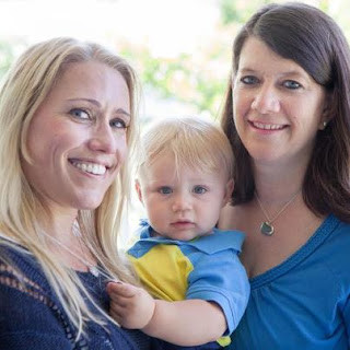 Pregnancy between friends - A bond formed in childhood leads to a baby born to a gestational carrier