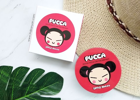 [REVIEW] Hocos - Puccha Chu Chu Sun Pact SPF43 PA+++ *