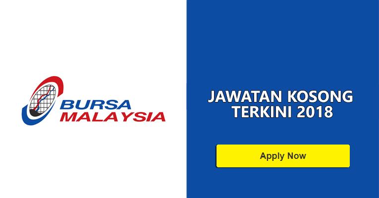 Jawatan Kosong di Bursa Malaysia Berhad 2018