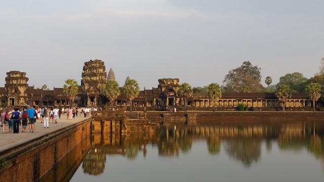 Beeindruckende Tempelanlagen in Angkor