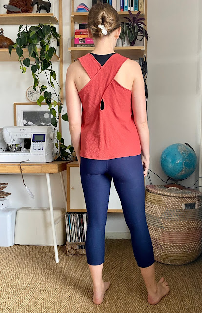 Diary of a Chain Stitcher: McCalls 6751 Yoga Tops in Cotton Jersey from The Fabric Store