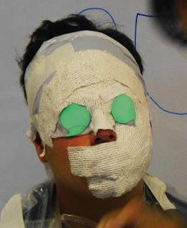 Salerm de trigo la máscara para los cabellos la aplicación
