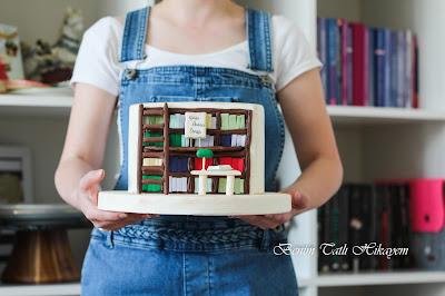 kütüphane pastası