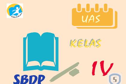 Latihan Soal Ulangan Akhir Semester Genap SBK Kelas 4 SD K13 dan Kunci Jawaban