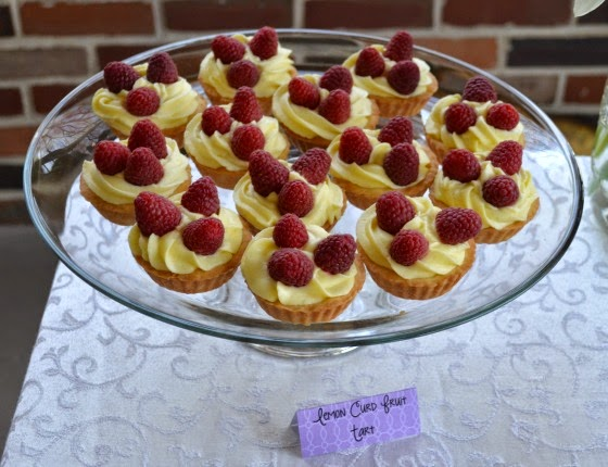 mother's day tea party tart