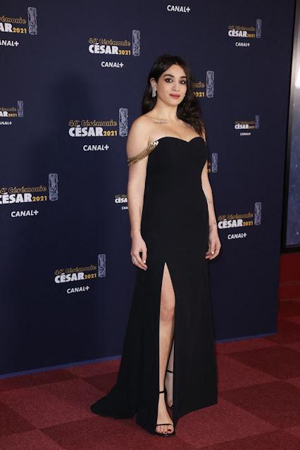 Camelia Jordana at 2021 Cesar Film Awards in Paris