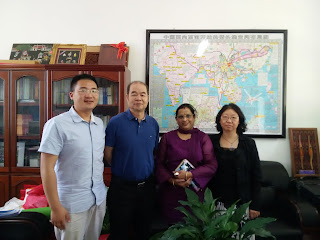 15 May 2015 visit to Dali University International Exchange and cooperation division