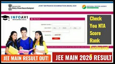 JEE main result 2021, Jee main result,