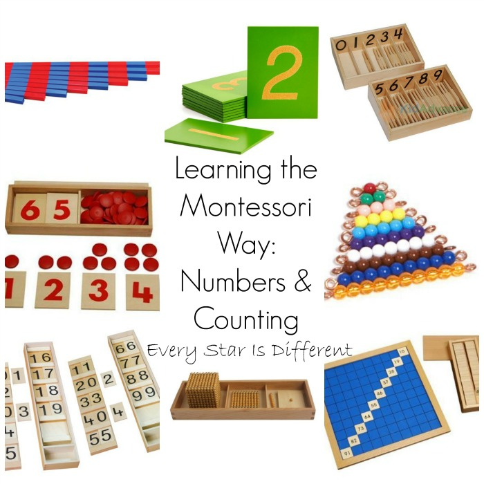 Learning the Montessori Way: Numbers & Counting
