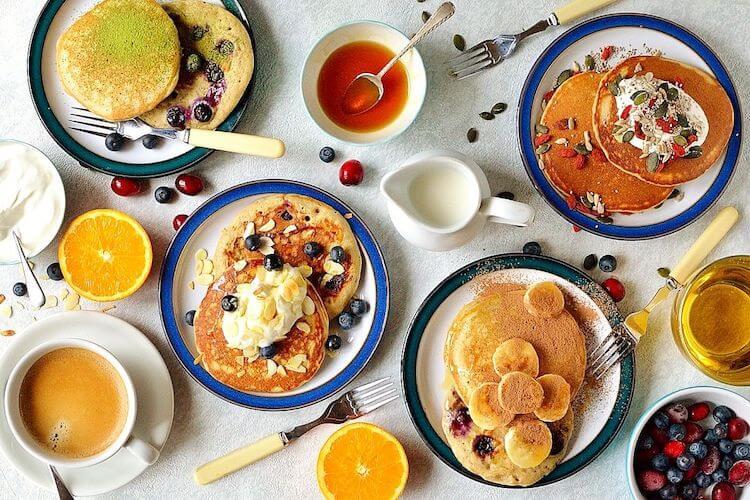 recetas de pancakes saludables