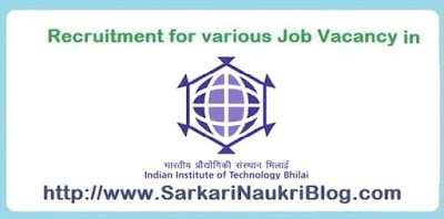 IIT Bhilai Government Jobs