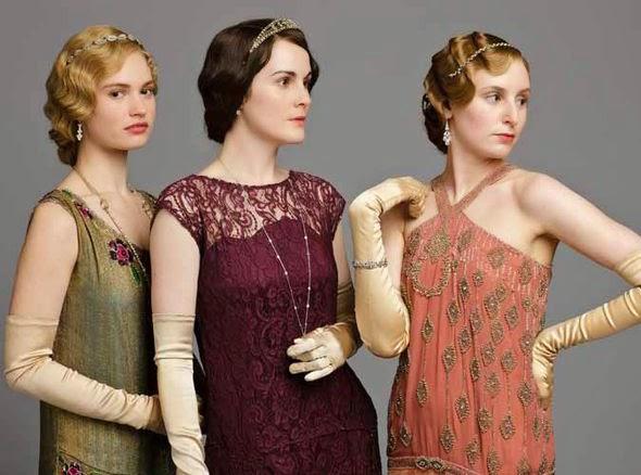 Lady Smith Downton Abbey serie