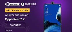 Amazon Quiz 25 December 2019 Answer Win Oppo Reno2 Z