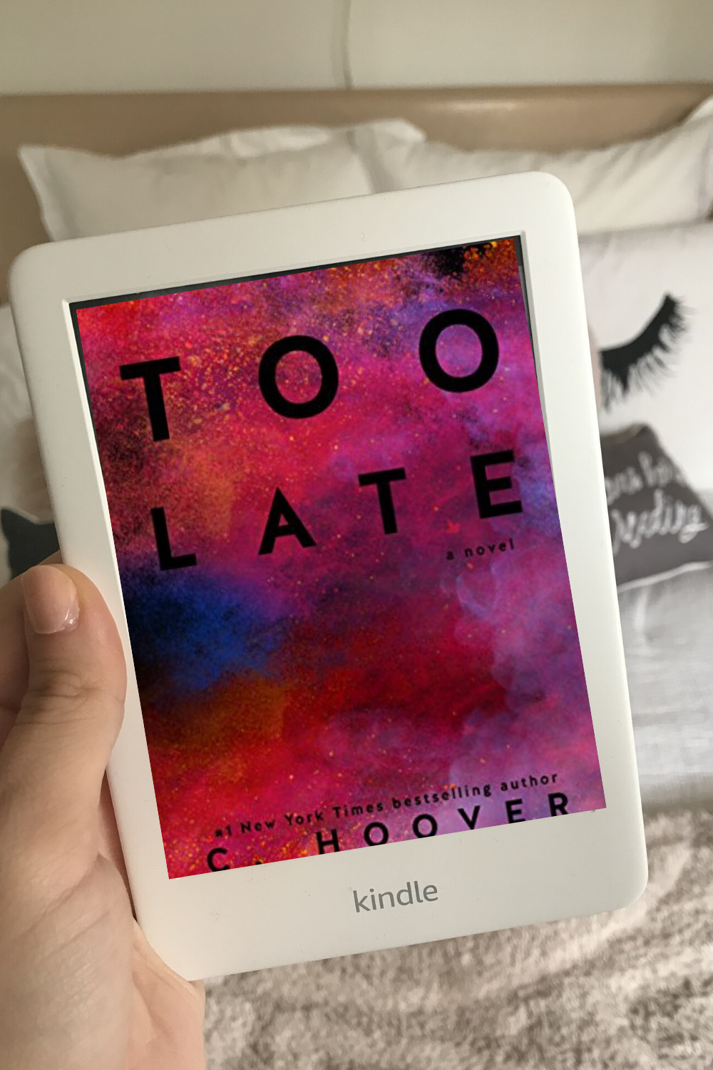 Book Review Wednesday: Too Late by Colleen Hoover