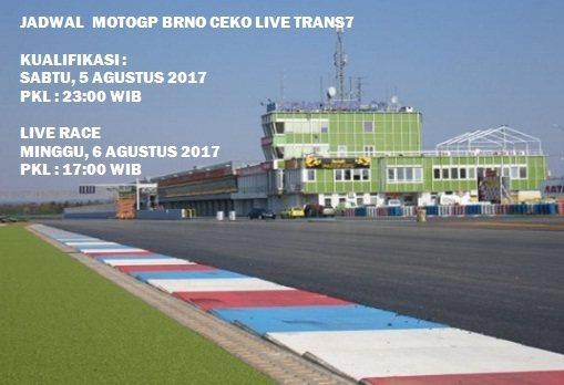 Jadwal Siaran Langsung MotoGP Brno Ceko