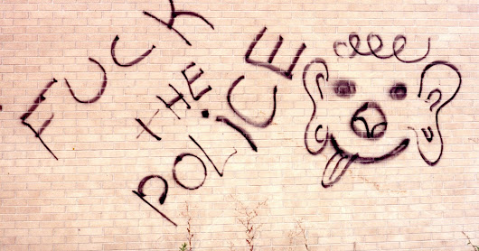 Fuck The Police, Graffiti, Montreal or Laval