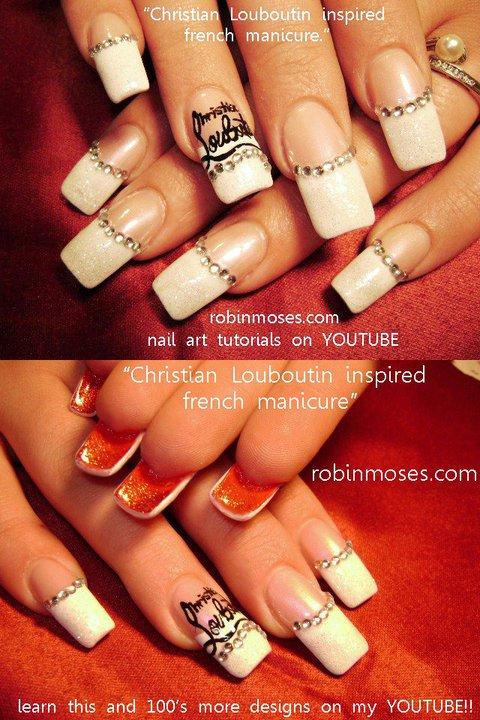 Nail Art by Robin Moses: CHRISTIAN LOUBOUTIN nail art tutorial ...