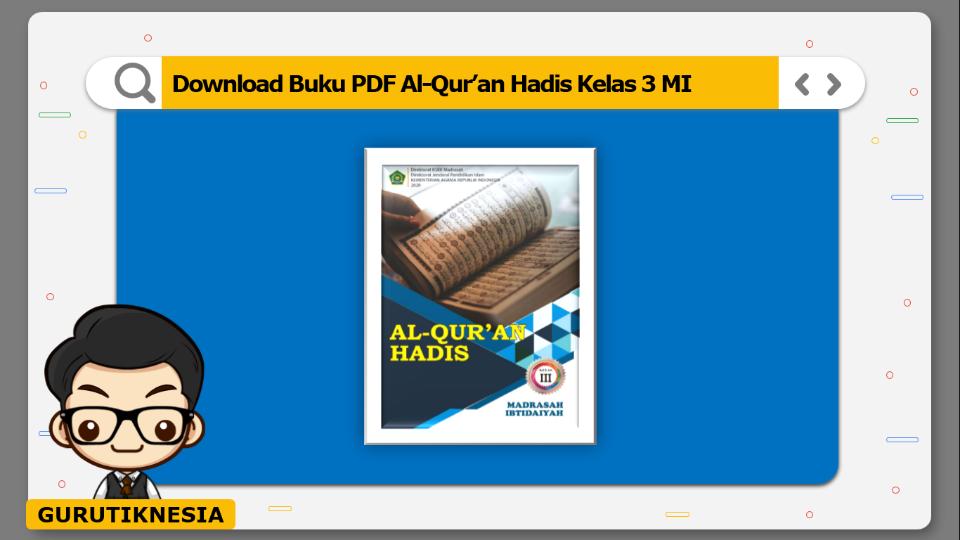 download buku pdf al-quran hadis kelas 3 mi