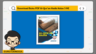 download ebook pdf  buku digital al-quran hadis kelas 3 mi
