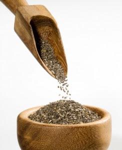bonnes graines pour la santé les graines de chia sont riches en omega3 et en fibres