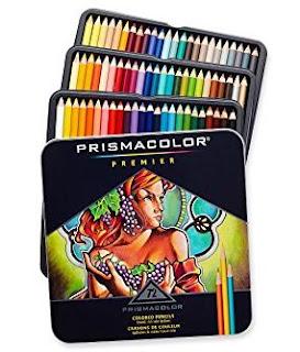 boite de 72 crayons de couleur prismacolor premier
