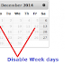 jQuery UI Datepicker - Disable Weekdays