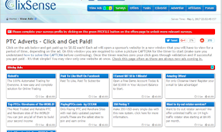 Clixsense - make money with PTC