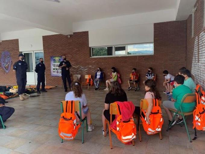 Ευχαριστήριο του Ομίλου «Μικροί Διασώστες Φυσικών Καταστροφών» του Πειραματικού Δημοτικού Σχολείου Φλώρινας