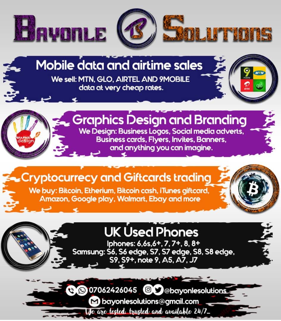 Bayonle Solutions