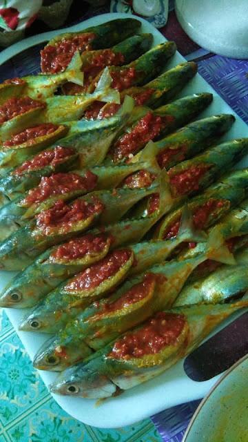 Resepi Sambal Bantut Ikan Cencaru