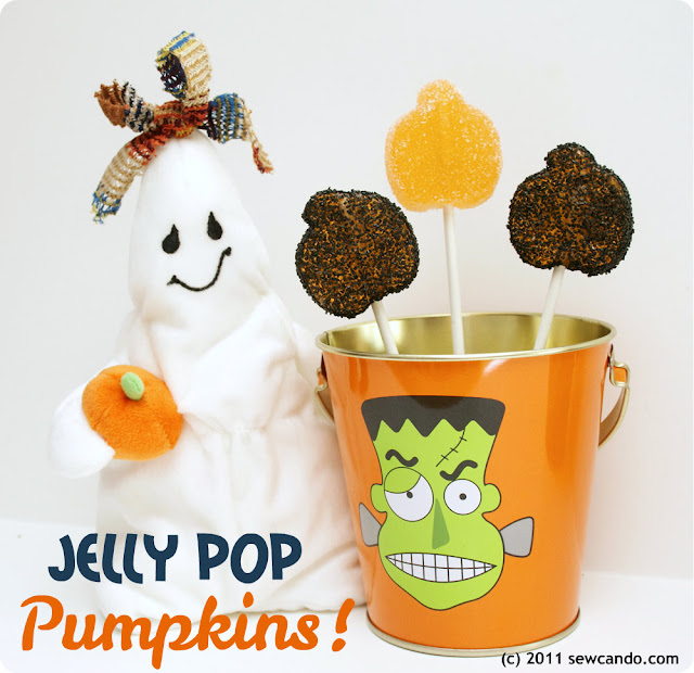 jelly pop pumpkins suckers