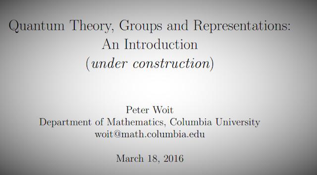 تحميلQuantum Theory, Groups and Representations .