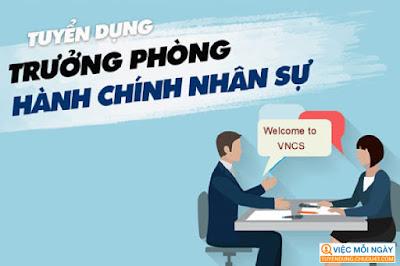 Công ty Cổ Phần Đô Thị Thông Minh Việt Nam Tuyển Trưởng Phòng Hành Chính T9/2020