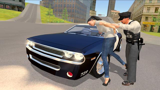 لعبة Police Chase - The Cop Car Driver