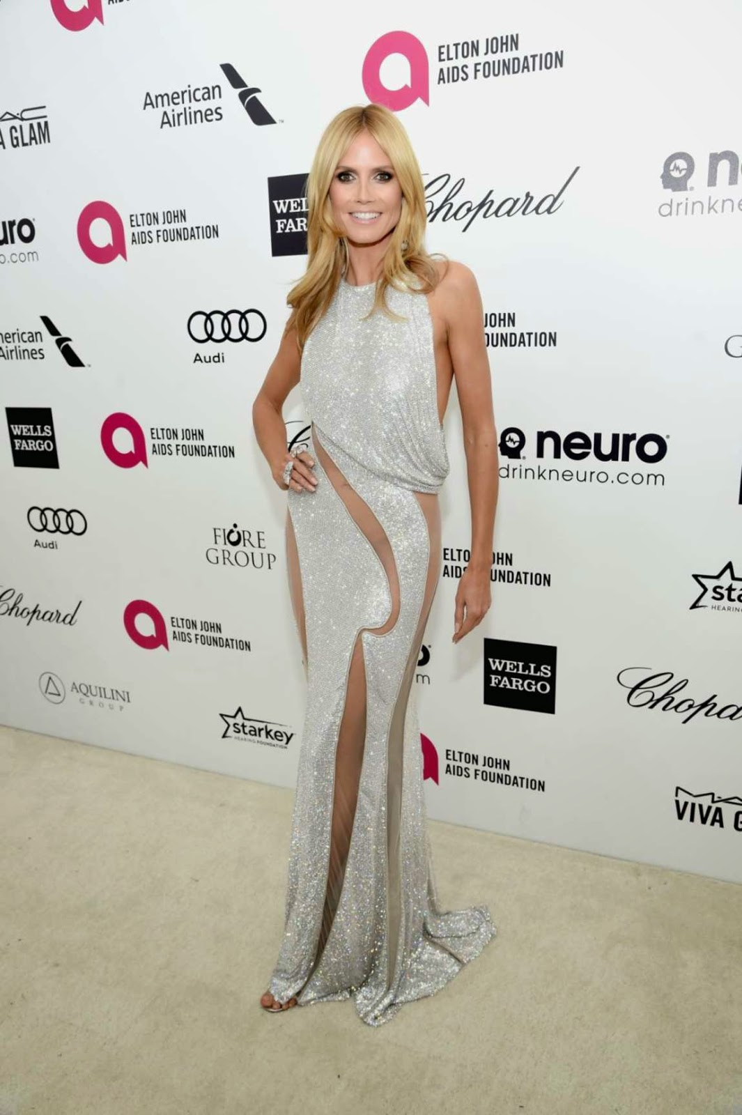 Heidi Klum – 23rd Annual Elton John AIDS Foundation Academy Awards Viewing Party in LA
