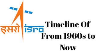 Timeline Of ISRO From 1960 to Now,ISRO, Space News, General Knowledge, General Knowledge question and answer, Timeline of ISRO