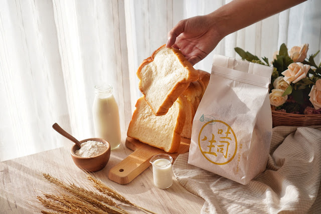 台南永康區美食【傳承烘焙坊】餐點介紹-生吐司