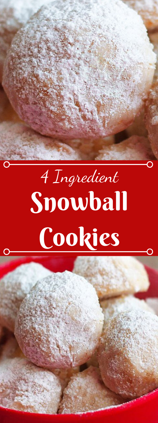 Snowball Cookies #desserts #cookies #easy #recipes #party