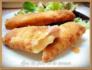 Flamenquin de jamon  y queso