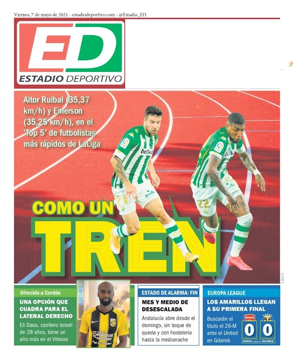 "Betis, Estadio Deportivo: ""Como un tren"""