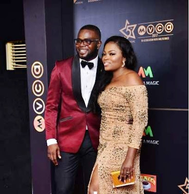"""Jenifer's Diary"" Boss Funke Akindele and Her Hubby, JJC Skillz are Reportedly Expecting Twins (Photo)"