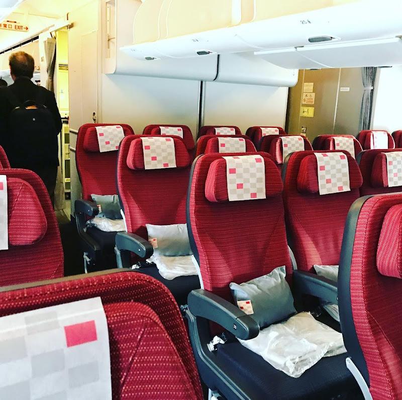 40レグ / 2016-12: JAL029(JL029) / 東京・羽田=香港 【2016年の搭乗メモ】