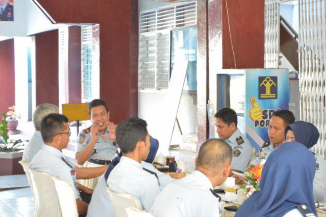 Lapas Watampone Mantapkan Pembangunan Wilayah Bebas Korupsi Lewat Coffee Morning