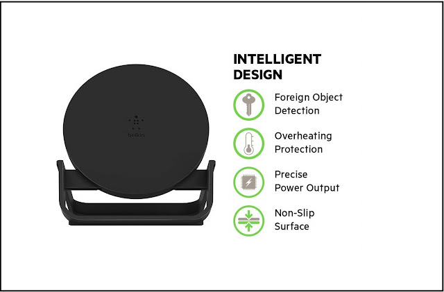 The Belkin Boost Up Wireless Charging Stand
