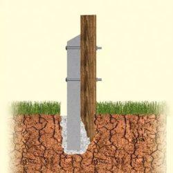 Comment réparer un poteau de clôture